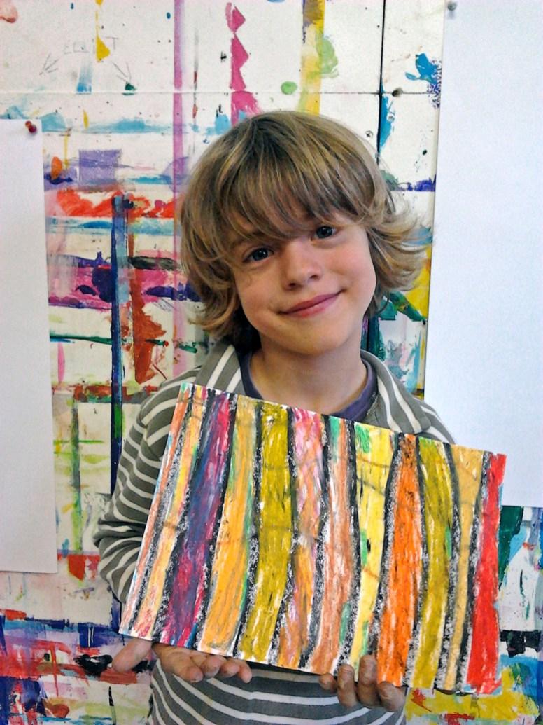 L'art et la matière : atelier d'expression 5