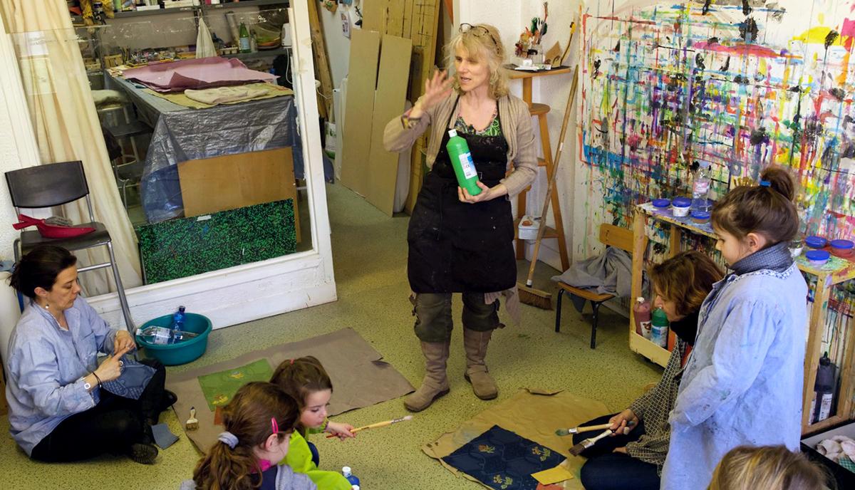 L'Atelier L'Art et la Matière : atelier de groupe et Art Thérapie 2
