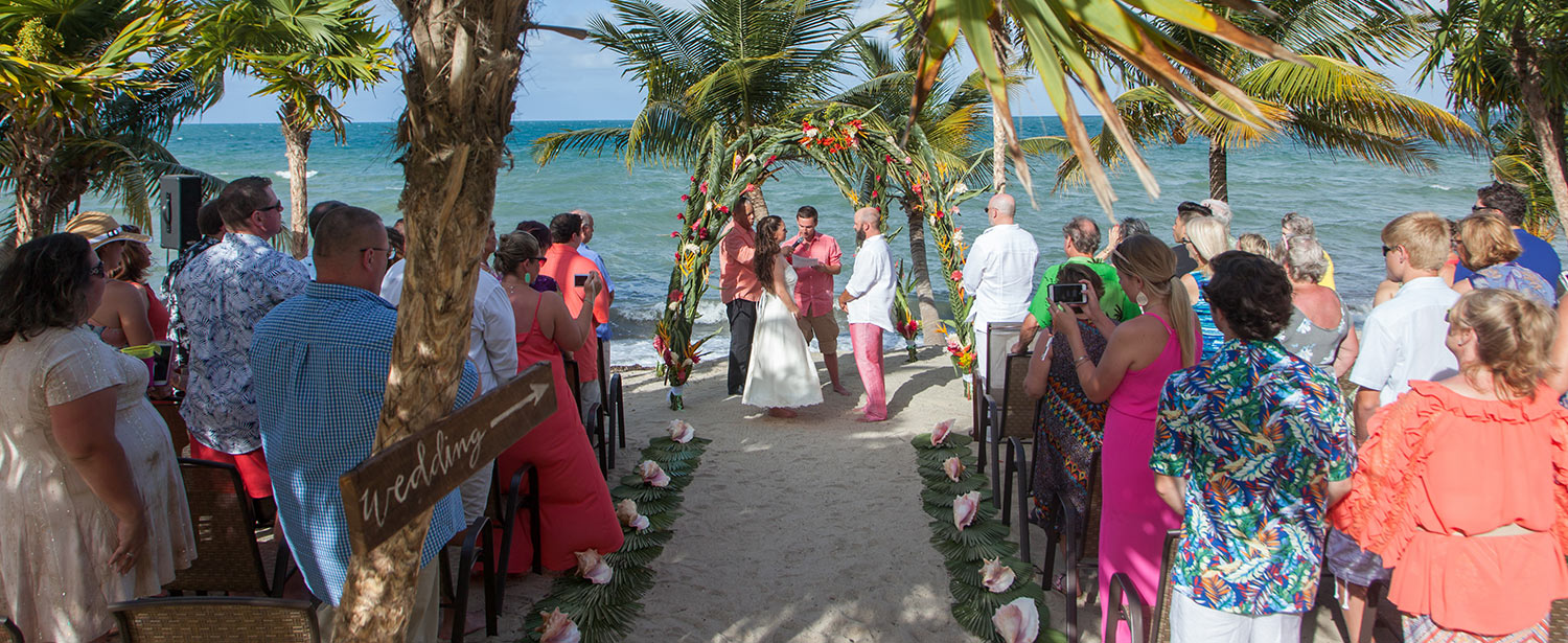 Placencia Belize All Inclusive Beach Wedding Package