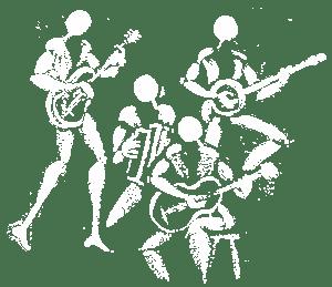 Dessin des musiciens de la Rue Kétanou