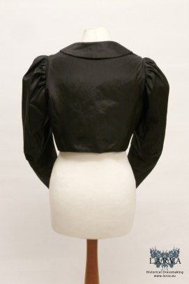 victorian-silk_jacket_black_back