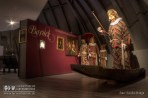 Der Besucher begeht einen Zeitstrahl durch verschiedene Epochen. Besonders prägend für die Fasnacht war dabei der Barock, der am Beispiel von Laufenburger Narronen eindrucksvoll geschildert wird