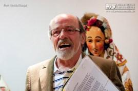 Michael Hügle von der Narrenzunft Frohsinn Donaueschingen führte durch das zunfteigene Museum