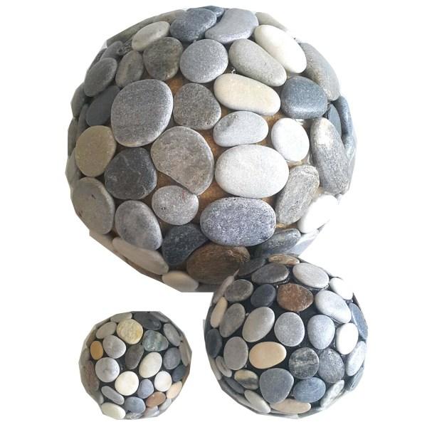 dekoratif taş toplar