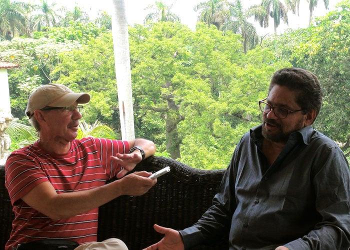 Reveladora entrevista de Jorge Enrique Botero a Iván Márquez en La Habana