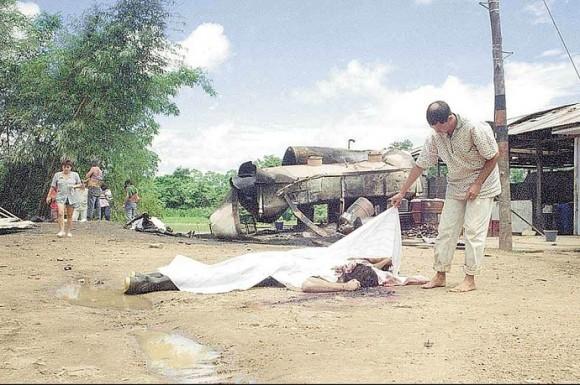 La triste masacre de Mapiripán fue perpetrada por 140 hombres que fueron transportados en aviones privados de la empresa Selva Ltda.