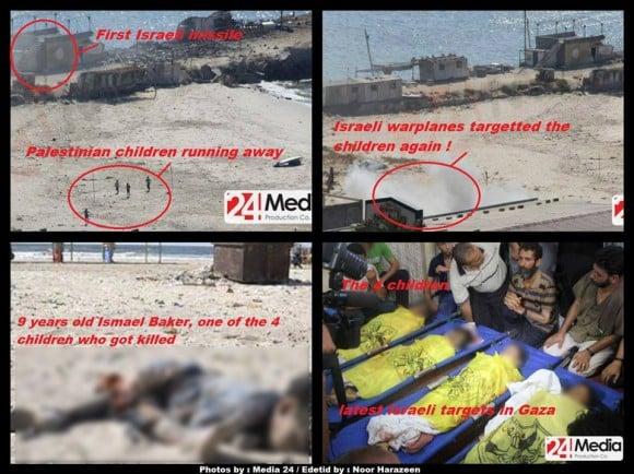 gaza-ninos-bombardeo