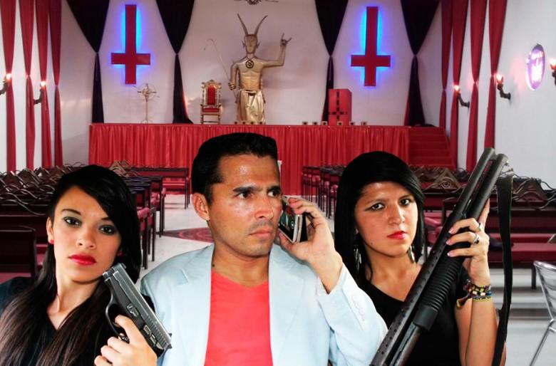 Semillas de luz, una iglesia en Calarcá donde el diablo reemplaza a Cristo