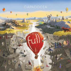 Un globo emergiendo hacia la Tierra es la imagen de portada del último disco de Full.