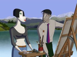 Ruben Brandt Collector, película de animación.