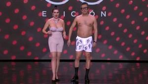 Buenafuente y Silvia Abril, con poca ropa en los Goya.