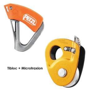tibloc + micro traxion petzl