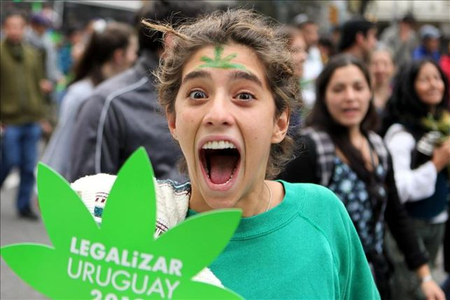 Charla con diputado uruguayo sobre legalización de la marihuana en Uruguay