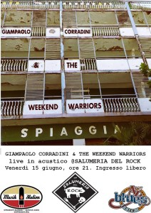 GIANPAOLO CORRADINI AND THE WEEKEND WARRIORS