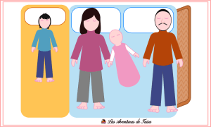 Como colechar cuando llega un nuevo bebé - niño mamá bebé papá barrera
