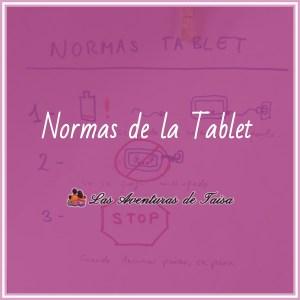 Normas de Uso de la tablet