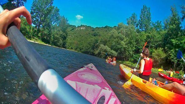 Canoas Rio y Kayak Mar
