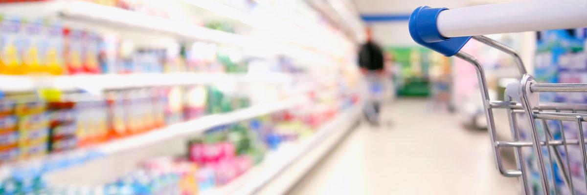 Gebäudereinigung Lebensmittelmarkt