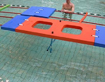 tapis piscine a suspension materiel