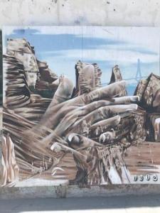 mi morena Sentir el sur mi sur graffiti de palmas en el Puerto de Santa María