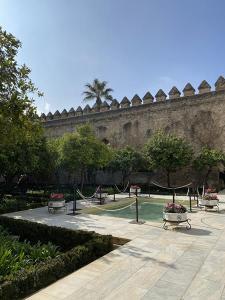 mi morena Sentir el Sur mi sur patio Alcázar de los Reyes Católicos de Córdoba