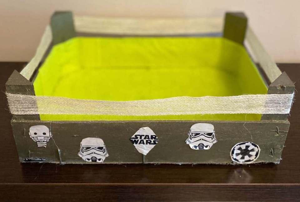 Mi morena caja Star Wars