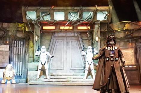 Mi morena Star Wars Dark Vader