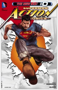 Action Comics Vol.2 #0. Por Ben Oliver.