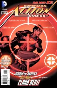 Action Comics Vol.2 #10. Por Rags Morales y Brad Anderson.