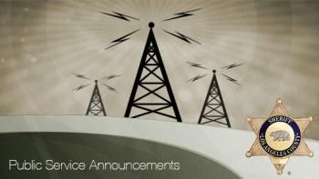 Permalink to: Public Service Announcements