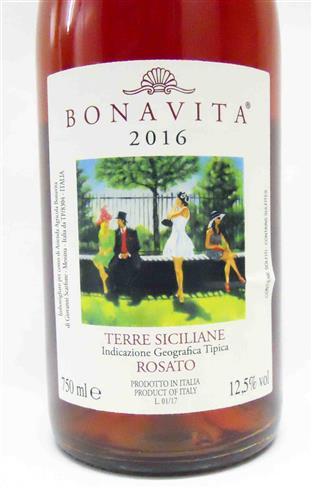 Bonavita – Terre Siciliane Rosato 2016
