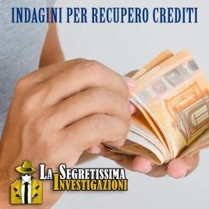 Indagini per Recupero Crediti
