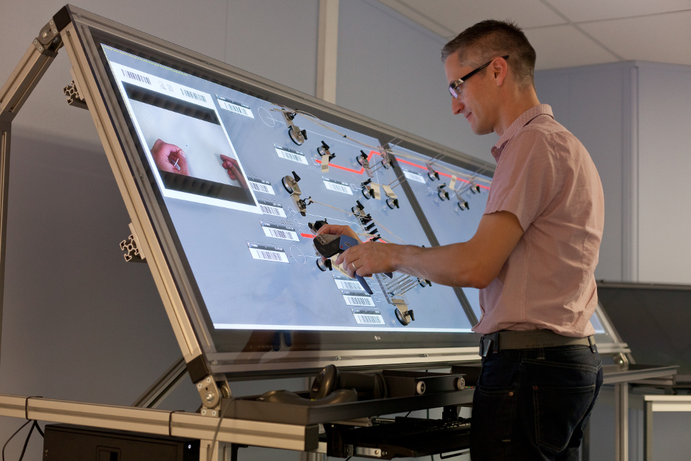 The Interactive Harness Assembly Board