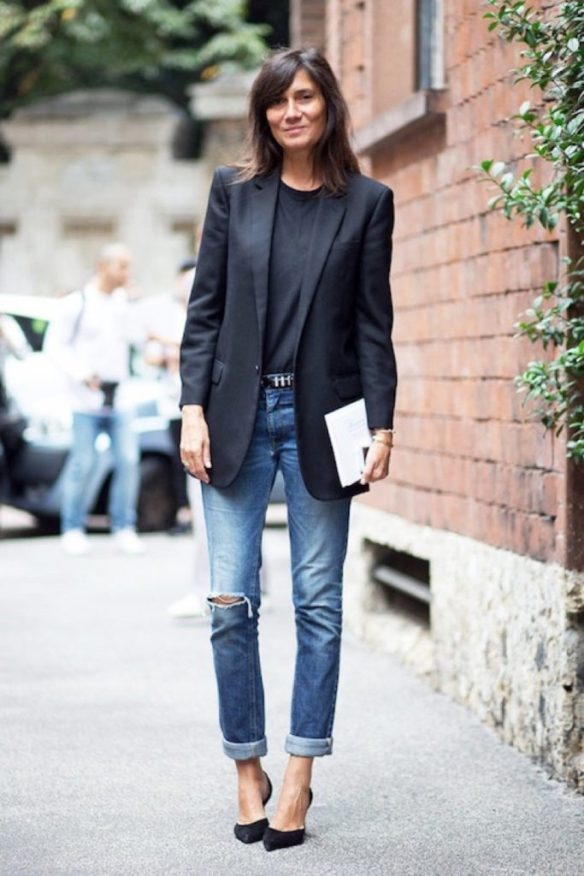 5 Blazer and jeans
