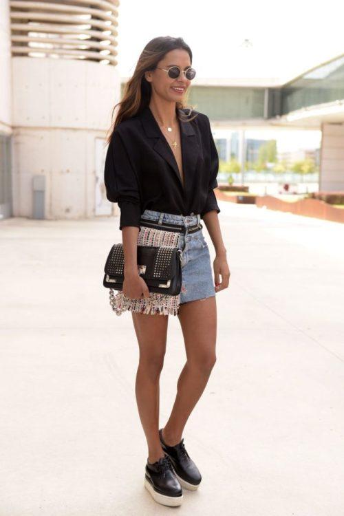 Llévala a modo de top por debajo de tu falda o pantalón vaquero, ¿te atreves? | Wear it as a top under your skirt or jeans, do you dare?