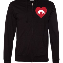Love for the Yards Zip-up