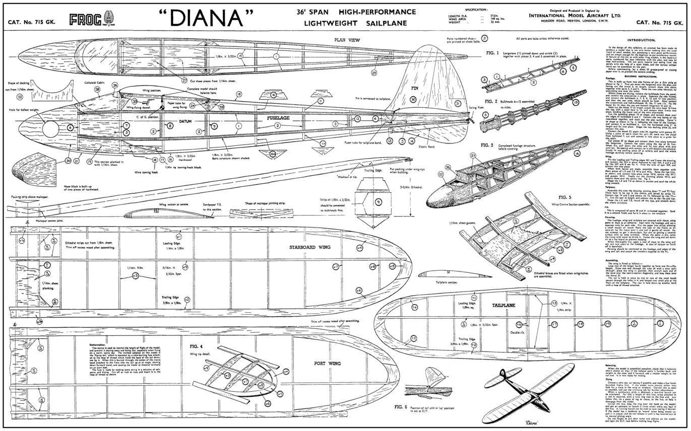 Frog Diana 36 Glider