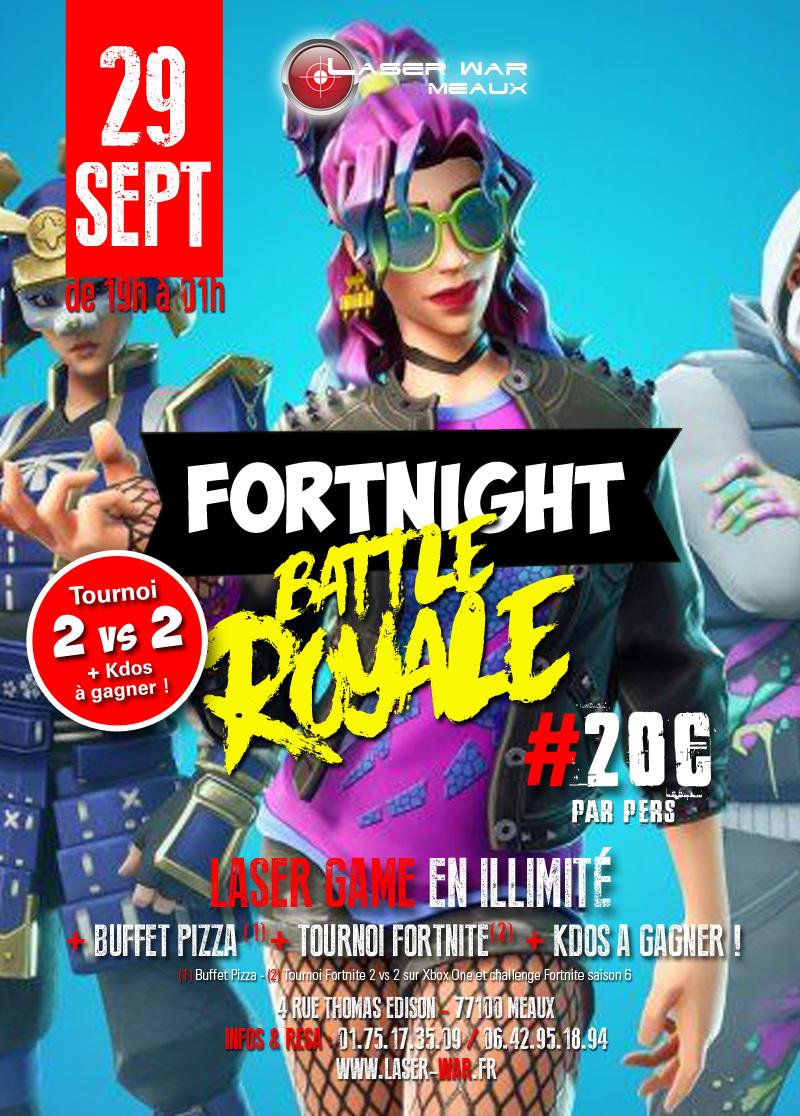 Fortnight Battle Royale S6 Laser War