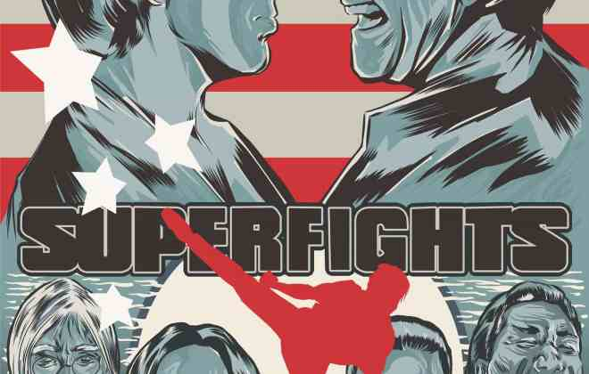 Superfights - The Laser Blast Film Society
