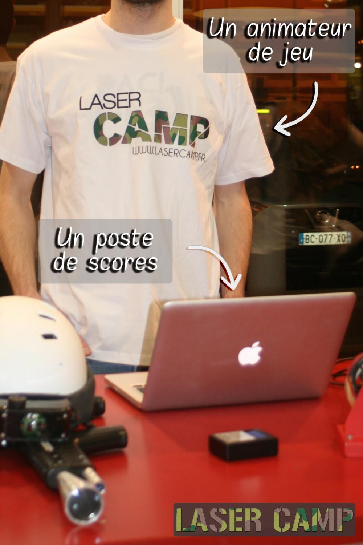 Materiel lasercamp
