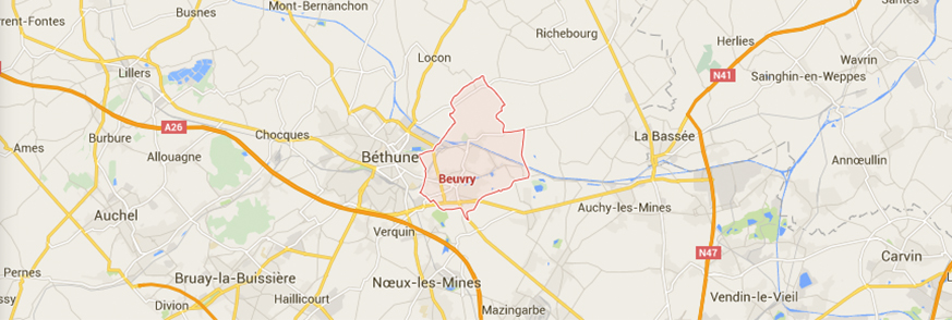 contact carte Beuvry