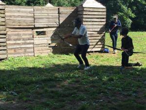 archery action