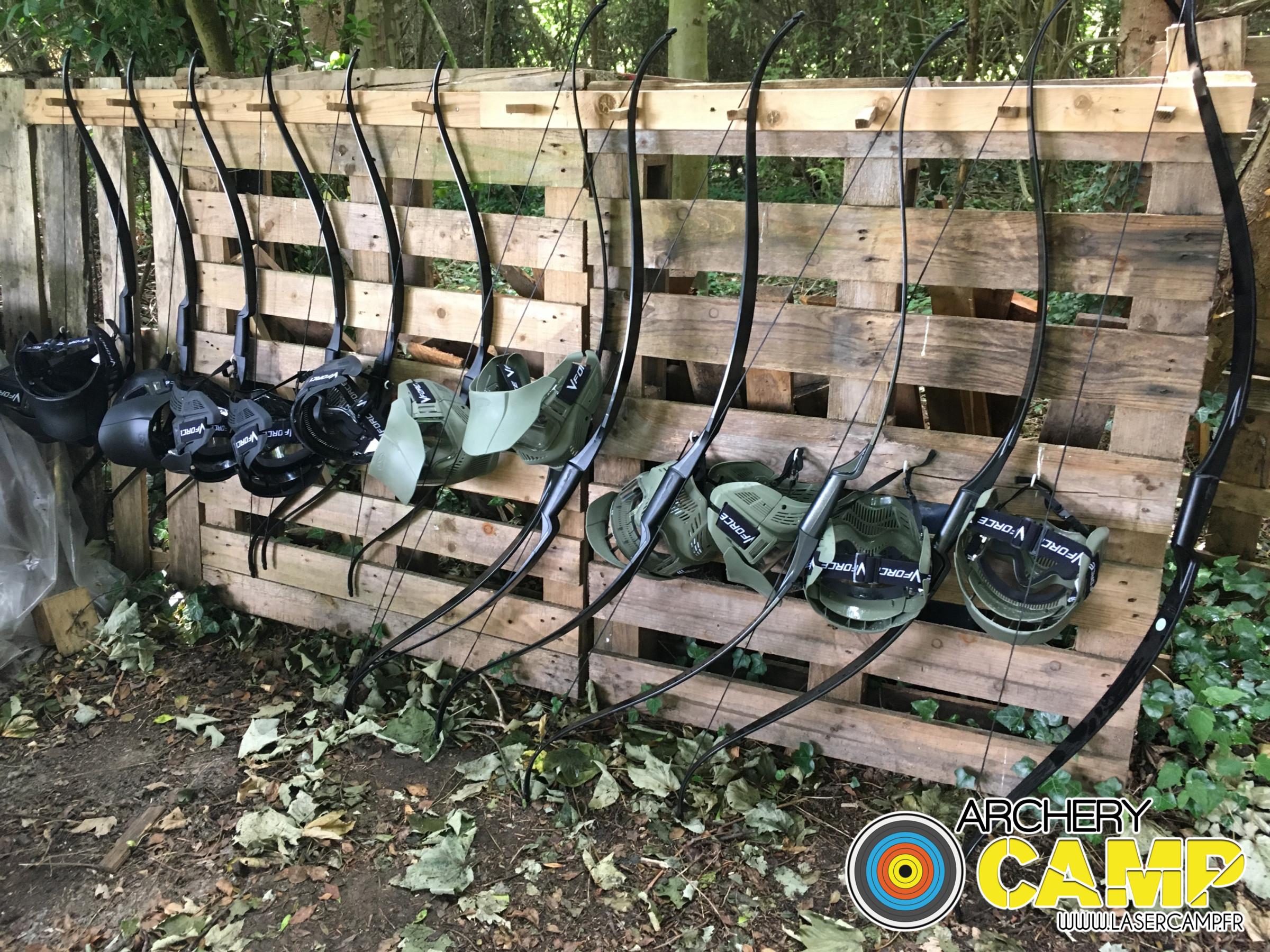 matériel archer tag