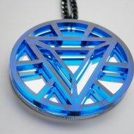Iron Man Heart Arc Necklace