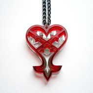 Kingdom Hearts Heartless Necklace