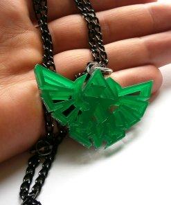 Legend of Zelda Necklace - Hyrule's Royal Crest