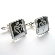 Kingdom Hearts Cuff links