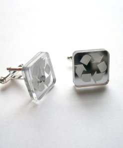 Recycle Cuff Links