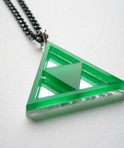 Green Zelda Necklace