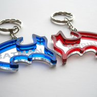 batman and robin keychain